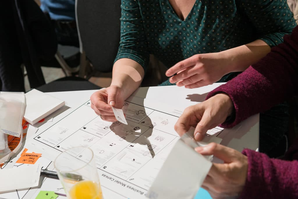 Strategyzer Workshop Business Model Masterclass - OCAD U CO x Strategyzer - Business Model Canvas