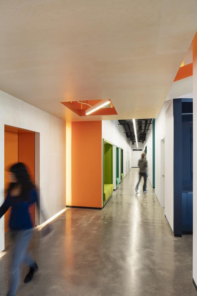 OCAD U CO Waterfront Facility - Hall Way